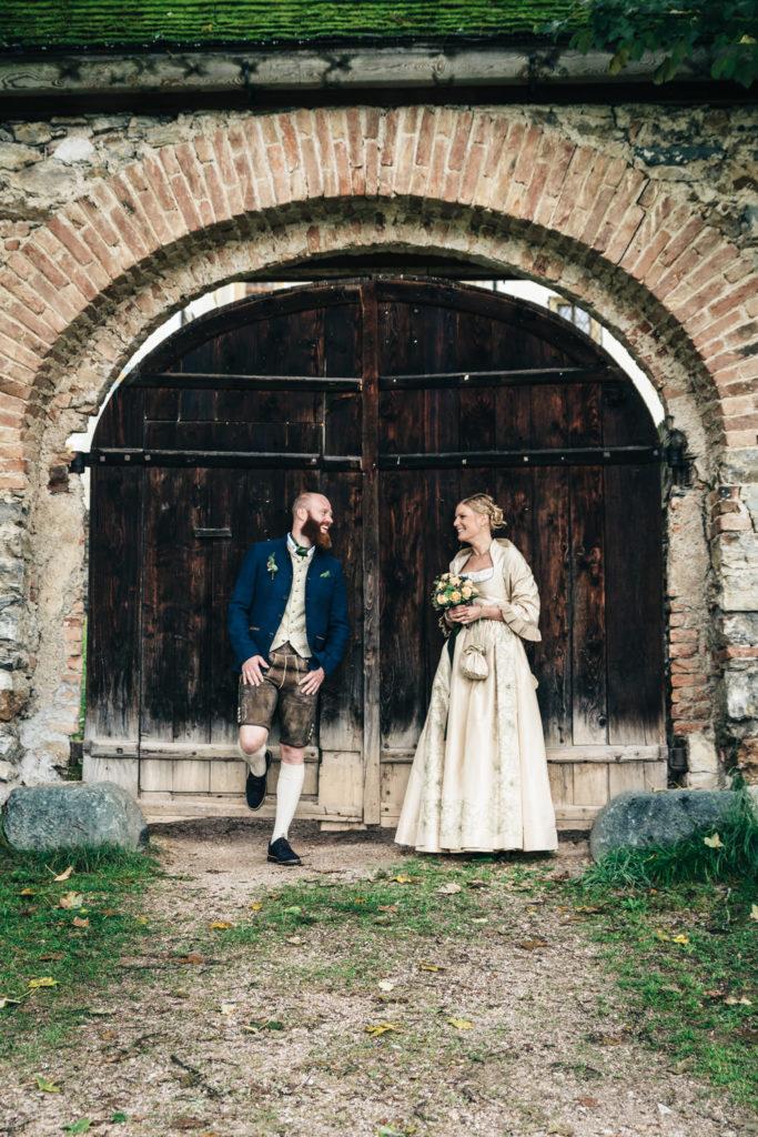 Paarfotos Hochzeit Trachten