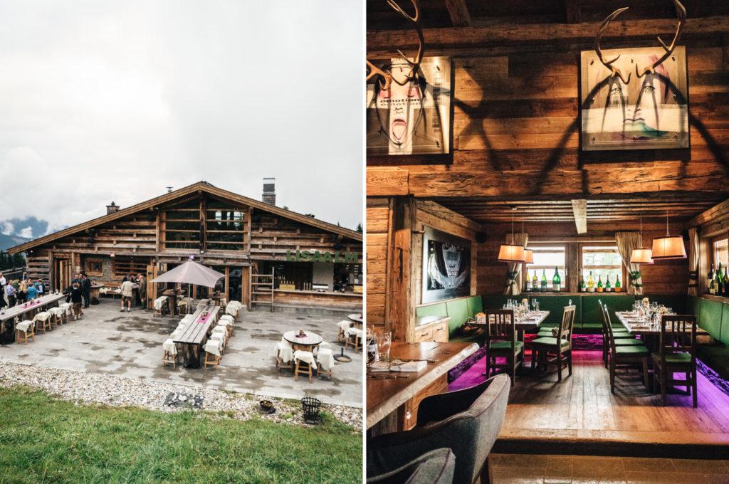 Trachtenhochzeit Flachau Hütte